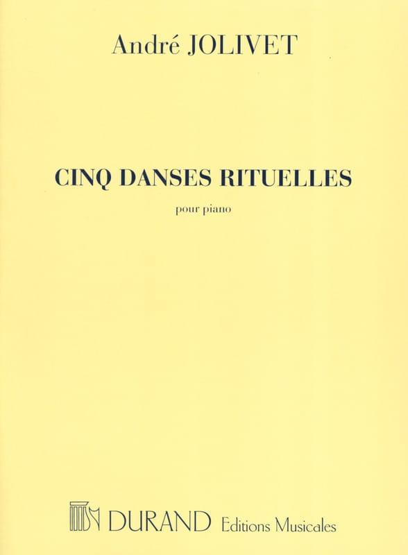 5 Danses Rituelles - André Jolivet - Partition - laflutedepan.com