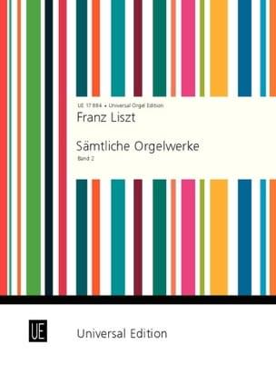 Oeuvre d'Orgue Volume 2 LISZT Partition Orgue - laflutedepan