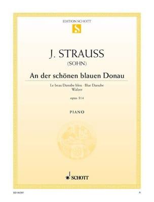 An Der Schönen Blauen Donau Opus 314 Johann fils Strauss laflutedepan