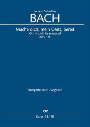 Cantate 115 Mache dich, mein Geist, bereit - laflutedepan.com