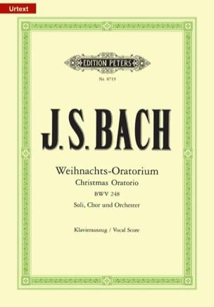 Weihnachts-Oratorium BWV 248 BACH Partition Chœur - laflutedepan