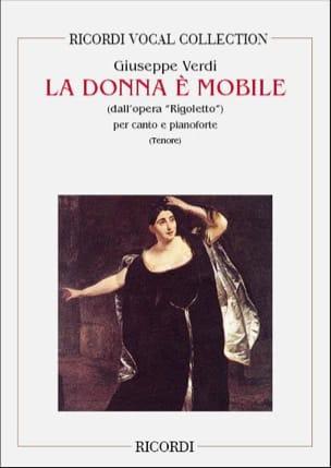 La Donna E Mobile. Rigoletto VERDI Partition Opéras - laflutedepan