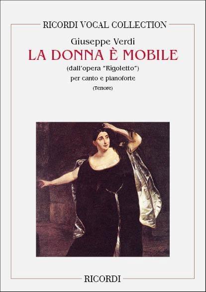 La Donna E Mobile. Rigoletto - VERDI - Partition - laflutedepan.com