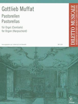 Pastorellas Gottlieb Muffat Partition Orgue - laflutedepan