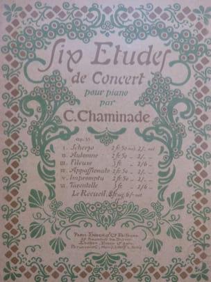 6 Etudes de Concert, op. 35 - Cécile Chaminade - laflutedepan.com