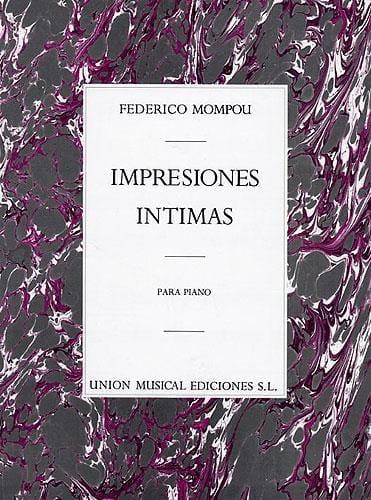 Impressions Intimes - Federico Mompou - Partition - laflutedepan.com