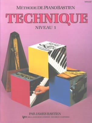 Méthode de Piano Bastien - Technique Niveau 1 BASTIEN laflutedepan