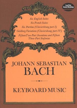 Keyboard Music BACH Partition Piano - laflutedepan
