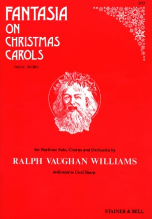 Fantasia On Christmas Carols WILLIAMS VAUGHAN Partition laflutedepan
