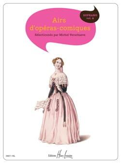 Airs D'opéras-Comiques. Soprano. Volume A Partition laflutedepan