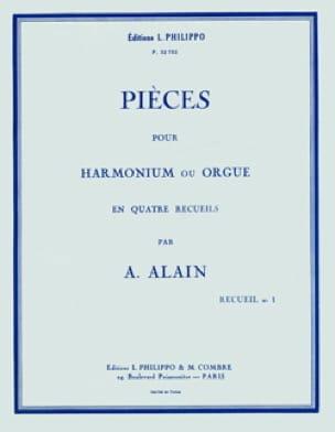 Pièces pour orgue Volume 1 - Albert Alain - laflutedepan.com