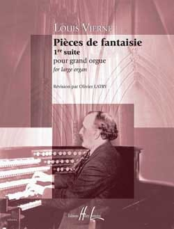 Louis Vierne - Fantasy Parts Opus 51 - Partition - di-arezzo.co.uk