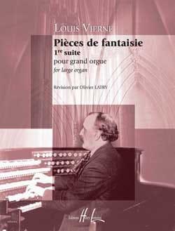 Pièces de Fantaisie Opus 51 VIERNE Partition Orgue - laflutedepan