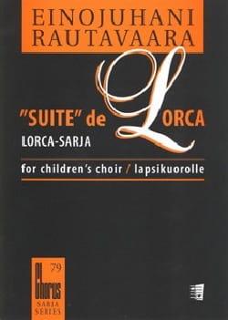 Suite de Lorca. Voix Egales Einojuhani Rautavaara laflutedepan