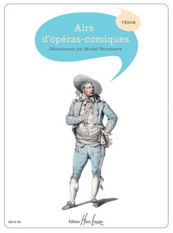 Airs D'opéras-Comiques Ténor Partition Opéras - laflutedepan
