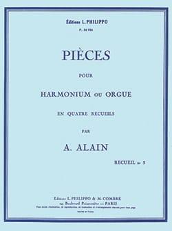 Pièces pour orgue Volume 3 Albert Alain Partition Orgue - laflutedepan
