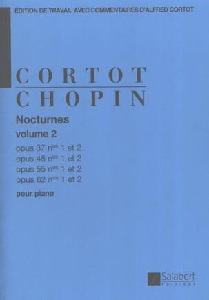 Nocturnes, Volume 2 CHOPIN Partition Piano - laflutedepan