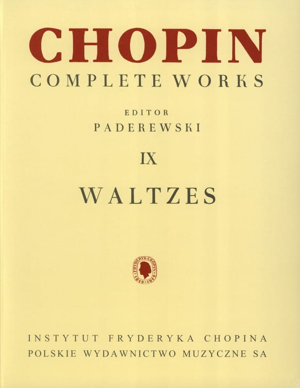 Valses - CHOPIN - Partition - Piano - laflutedepan.com