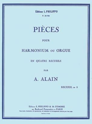 Pièces pour orgue Volume 3 - Albert Alain - laflutedepan.com