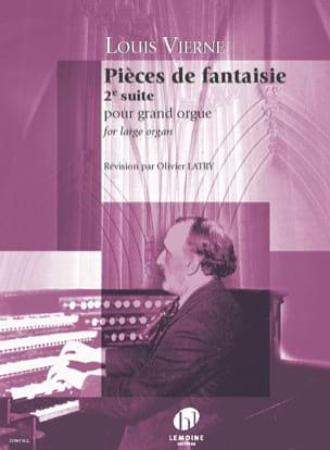 Pièces de Fantaisie - Opus 53 VIERNE Partition Orgue - laflutedepan