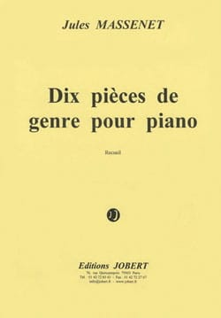 10 Pièces de Genre Opus 10 MASSENET Partition Piano - laflutedepan