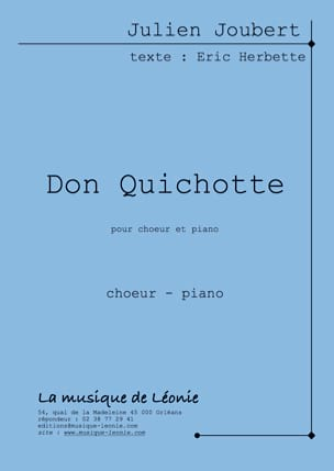 Don Quichotte - Julien Joubert - Partition - Chœur - laflutedepan.com