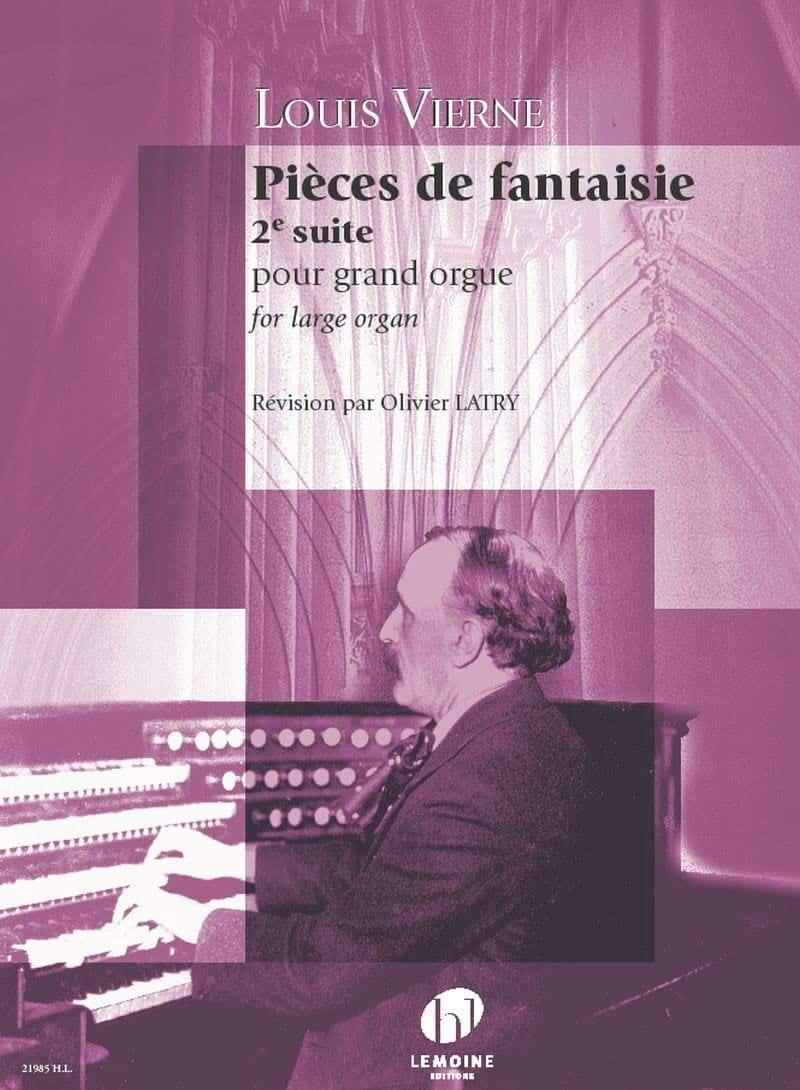 Pièces de Fantaisie - Opus 53 - VIERNE - Partition - laflutedepan.com