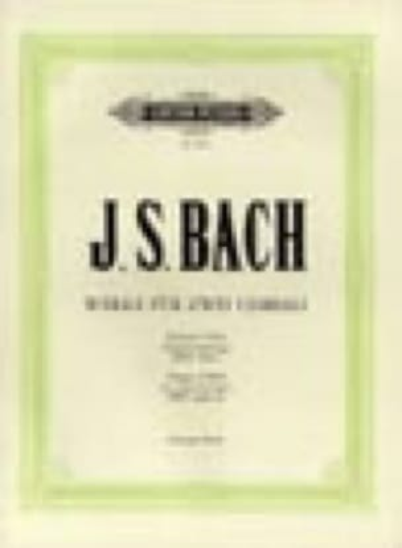 Oeuvres Pour 2 Claviers - BACH - Partition - Piano - laflutedepan.com