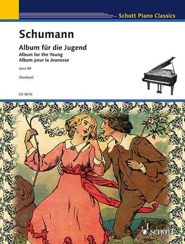 Album Für Die Jugend Opus 68 - SCHUMANN - Partition - laflutedepan.com
