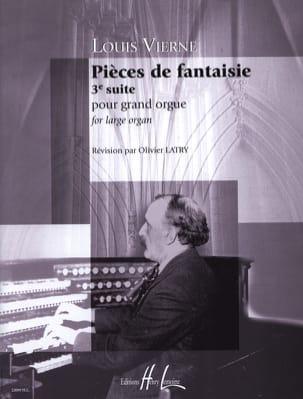 Pièces de Fantaisie Opus 54 VIERNE Partition Orgue - laflutedepan