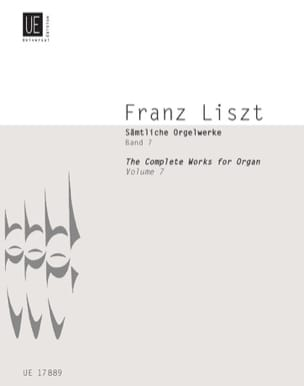 Oeuvre d'Orgue Volume 7 LISZT Partition Orgue - laflutedepan