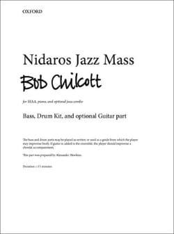 Nidaros Jazz Mass Bob Chilcott Partition Chœur - laflutedepan