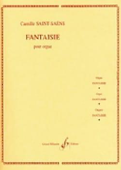 Fantaisie 1857 SAINT-SAËNS Partition Orgue - laflutedepan