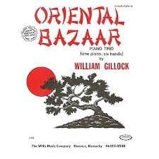 Oriental Bazaar. 6 mains William Gillock Partition laflutedepan