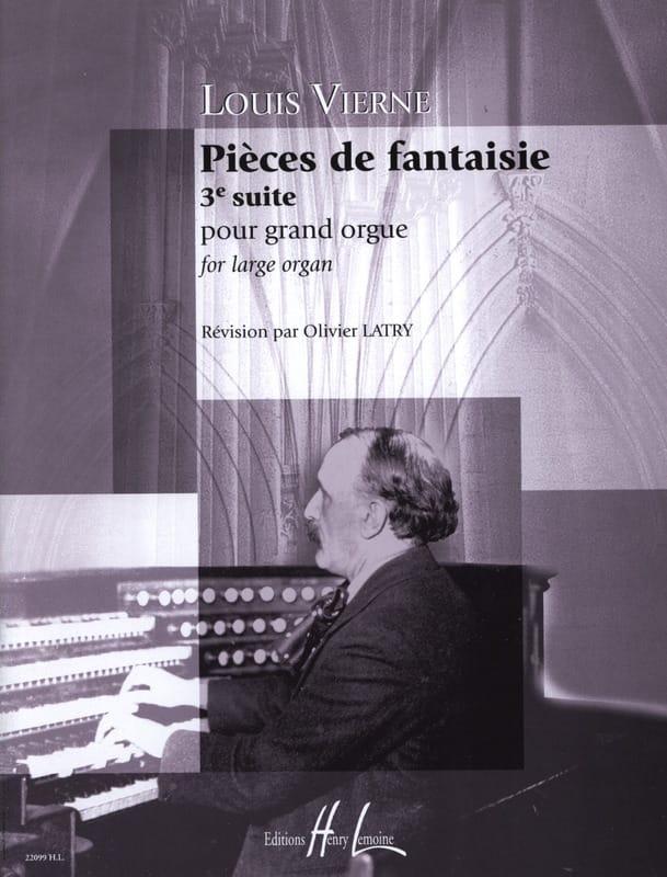 Pièces de Fantaisie Opus 54 - VIERNE - Partition - laflutedepan.be