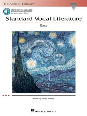 Standard Vocal Literature. Basse Partition Recueils - laflutedepan