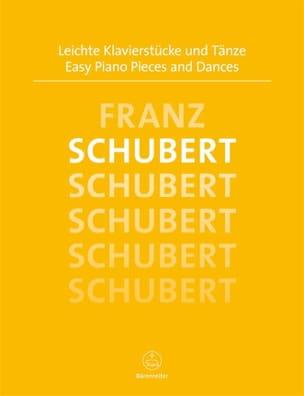 Easy Piano Pieces and Dances SCHUBERT Partition Piano - laflutedepan
