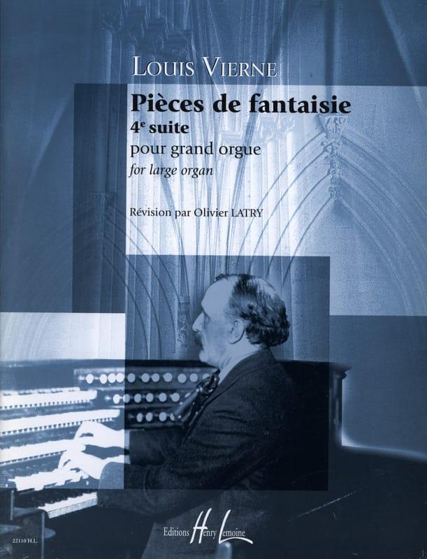 Pièces de Fantaisie Opus 55 - VIERNE - Partition - laflutedepan.com