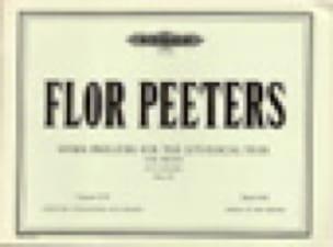 Hymn Preludes Op. 100 Volume 17 - Flor Peeters - laflutedepan.com