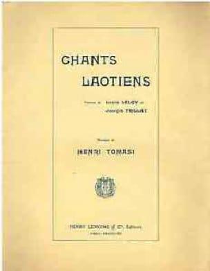 Chants Laotiens - TOMASI - Partition - Mélodies - laflutedepan.com
