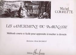 Amusemens Du Parnasse CORRETTE Partition Clavecin - laflutedepan