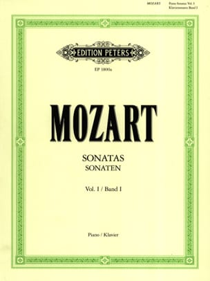 Sonates - Volume 1 MOZART Partition Piano - laflutedepan