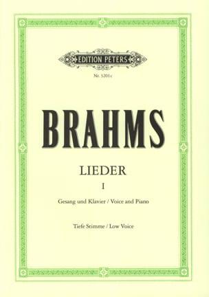 BRAHMS - Lieder Volume 1. Serious Voice - Partition - di-arezzo.com