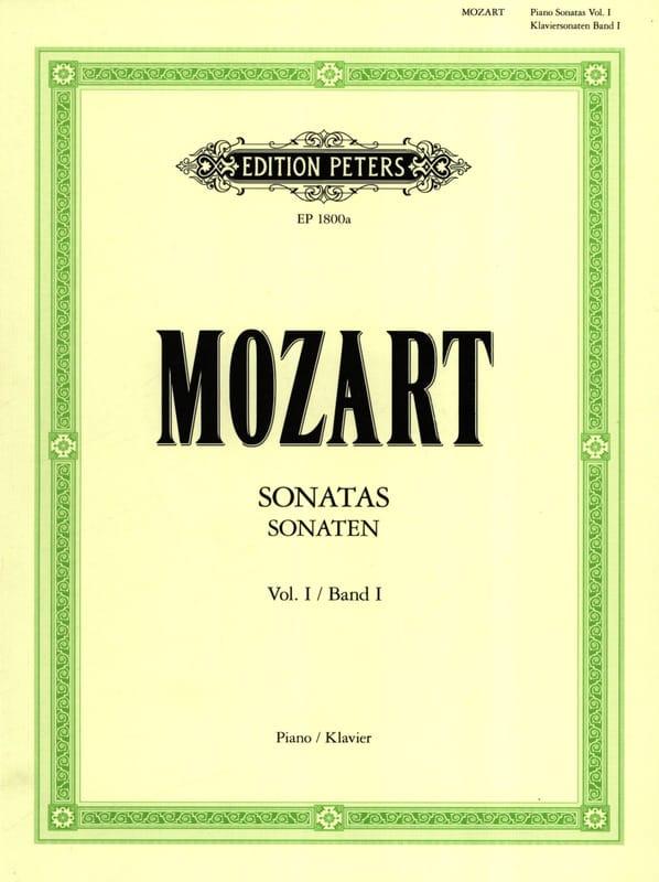 Sonates - Volume 1 - MOZART - Partition - Piano - laflutedepan.com