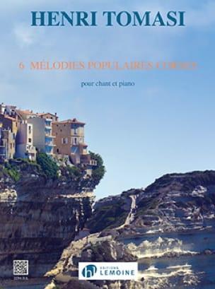 6 Mélodies Populaires Corses - TOMASI - Partition - laflutedepan.com