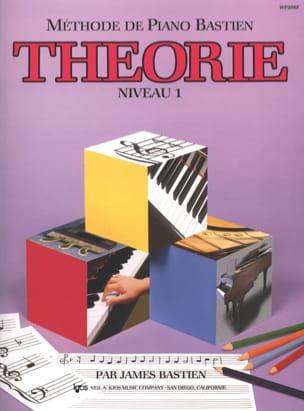 Méthode de Piano Bastien - Théorie Niveau 1 BASTIEN laflutedepan