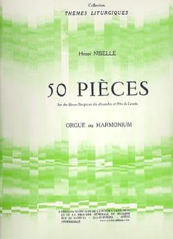 50 Pièces Henri Nibelle Partition Orgue - laflutedepan