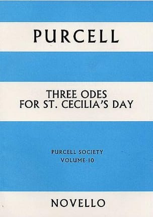 3 Odes For St Cecilia's Day PURCELL Partition Chœur - laflutedepan