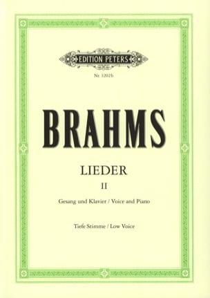 BRAHMS - Lieder Volume 2. Serious Voice - Partition - di-arezzo.com