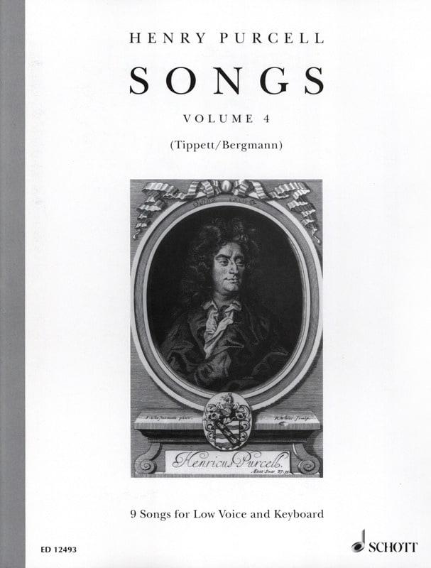 Songs, Bd. 4. Voix Grave - PURCELL - Partition - laflutedepan.com